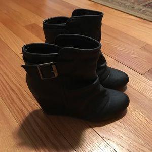 Madden girl black bootie